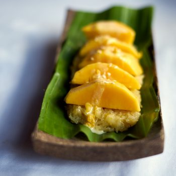 Sticky rice & mango